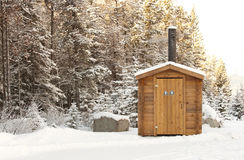 Outhouse Stock Photography