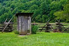 Outhouse Royalty Free Stock Images