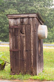 outhouse Arkivfoton