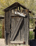 Outhouse Foto de Stock Royalty Free