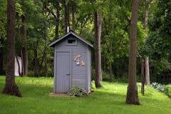outhouse Imagen de archivo