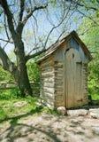 outhouse fotografering för bildbyråer