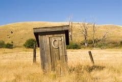 Outhouse Fotografia Stock Libera da Diritti