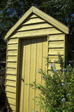 Outhouse. An old fashioned outdoor toilet Royalty Free Stock Photography
