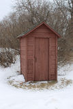 outhouse Immagine Stock