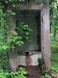 outhouse Στοκ φωτογραφία με δικαίωμα ελεύθερης χρήσης