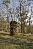 Outhouse antico   Immagini Stock Libere da Diritti