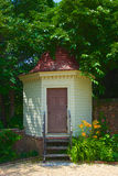 Outhouse in Colonial Mount Vernon plantation Stock Image