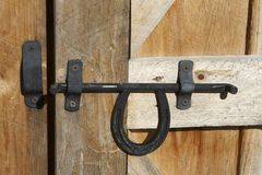 Outhouse Latch Stock Image