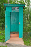 Outhouse or outdoor bathroom Stock Photo