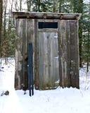 Outhouse - relevo remoto Fotos de Stock Royalty Free