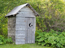Outhouse in summer Stock Images