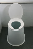 Outhouse toilet Stock Images