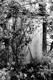 Outhouse velho Foto de Stock Royalty Free