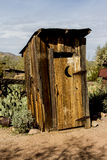 The Outhouse Royalty Free Stock Images