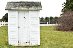 Outhouse Stock Photo