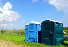Outhouses Stock Photography