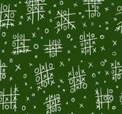 ouths σταυρών πινάκων κιμωλίας ά& Στοκ εικόνες με δικαίωμα ελεύθερης χρήσης