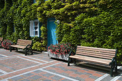 Outide place to sit Royalty Free Stock Photo