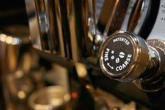 Outil à café d'expresso et de latte photo libre de droits