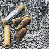 Outil d'ouvrière couturière Photo libre de droits