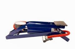 Outil d'ouvrier chargé des pompes d'air de pied Photographie stock