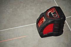 Outil de niveau de laser Photos libres de droits
