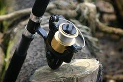 Outil de pêche Photo stock