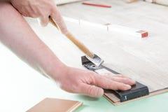 Outil de plancher photo stock