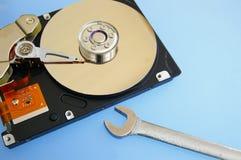 Outil de réparation d'ordinateur Photographie stock