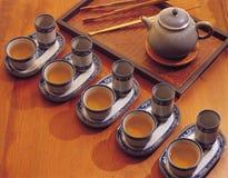outil de thé de boissons de porcelaine Image libre de droits
