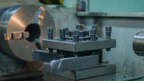 outil de tour en métal coupeurs de tour fragment Plan rapproché images libres de droits