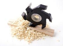 Outil de travail du bois Image libre de droits