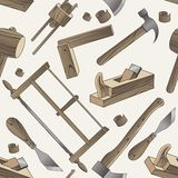 Outil en bois illustration stock