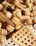 Outil en bois de massage Photographie stock