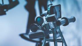 Outil industriel d'appareil-photo de vision par ordinateur photographie stock