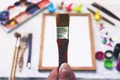 Outil pour l'art Photographie stock