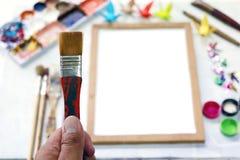Outil pour l'art Photographie stock libre de droits