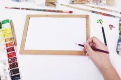 Outil pour l'art Photo stock