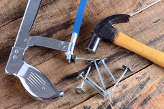 Outil pour le charpentier Photo libre de droits