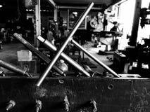 Outillage en acier et industriel image stock