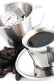 Outils à café Photographie stock libre de droits