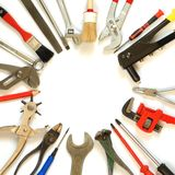 Outils Photographie stock