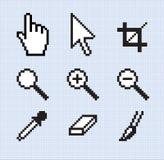 Outils classiques d'écran illustration de vecteur