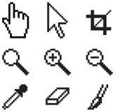 Outils classiques d'écran illustration stock