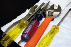 Outils communs de laboratoire Images stock