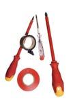 Outils d'électricien Photos stock