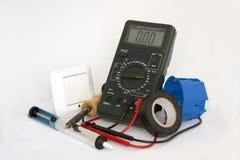 Outils d'électriciens Photos stock