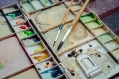 Outils d'art photo libre de droits
