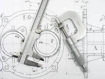 Outils d'ingénierie Photo libre de droits